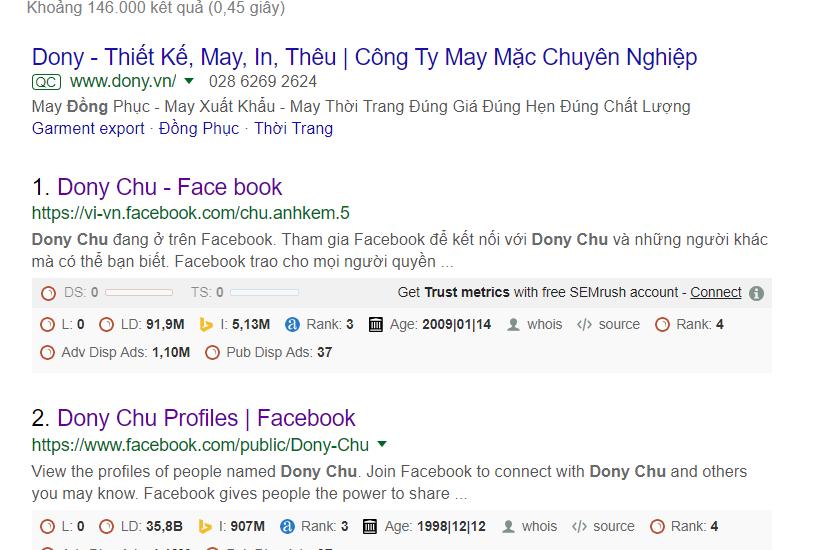donny chu là ai trên google search