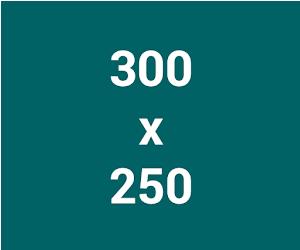 kích thước ảnh banner dành cho GDN 300 x 250
