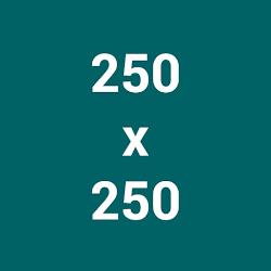 các kích thước ảnh google display network 250x250