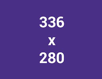 các kích thước banner mạng hiển thị google 336x280