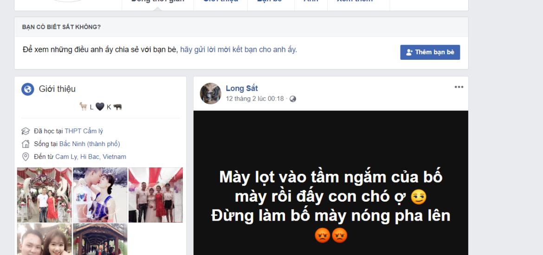 hình ảnh long sắt trên facebook search