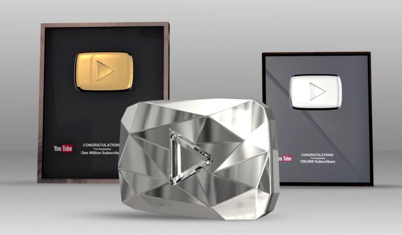 nút vàng nút bạc youtube - ước mơ của bao nhiêu anh em youtuber