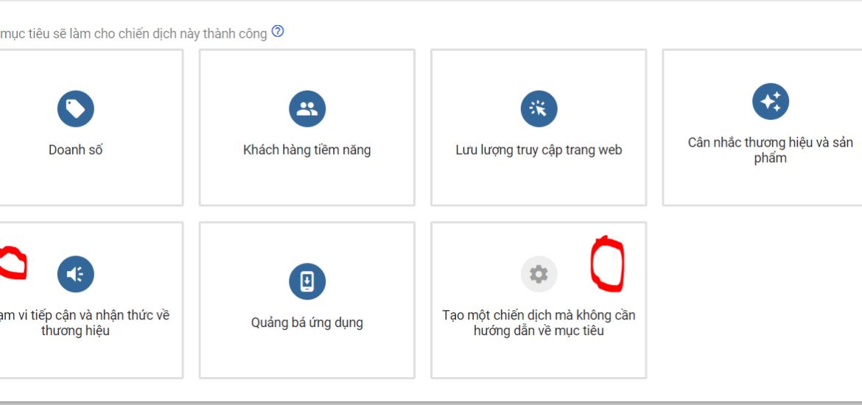 tạo chiến dịch tăng view youtube bằng google adwords